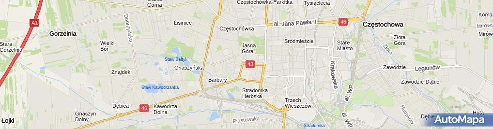 Zdjęcie satelitarne Divine Solutions Paweł Cieślak