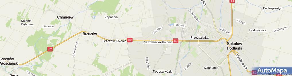 Zdjęcie satelitarne Dobra Forma Wojtkowska Martyna