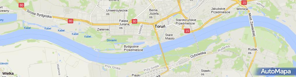 Zdjęcie satelitarne Dolce Vita