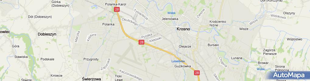 Zdjęcie satelitarne Dołęgowski Piotr Mechanika Samochodowa Piotr Dołęgowski, Szymon Skwara SC