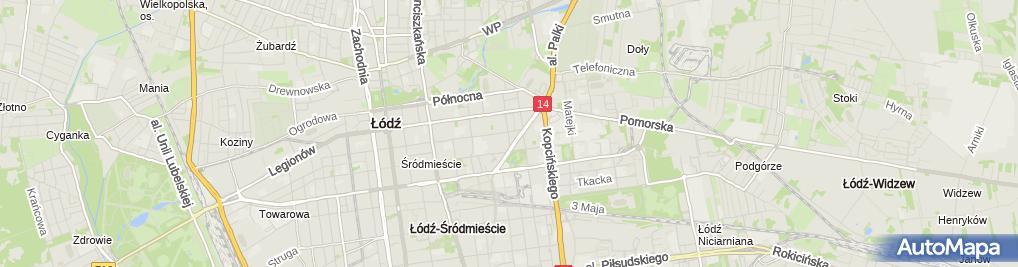 Zdjęcie satelitarne Domhouse Biuro Reklamowo Usługowe Grzegorz Grzegorek Ryszard Podladowski Dawid Rużanowski