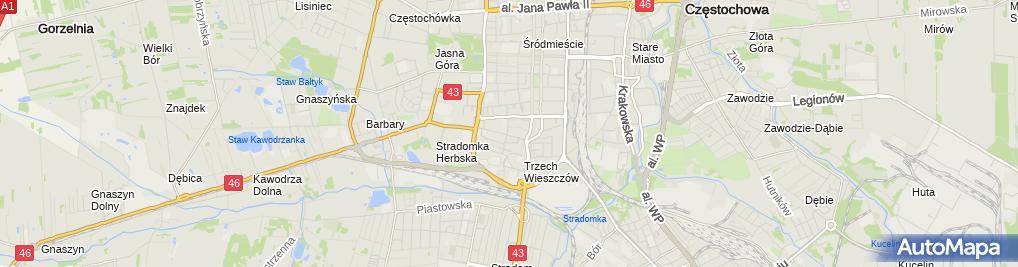Zdjęcie satelitarne Domipol Dominik Kępa