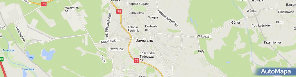 Zdjęcie satelitarne Doradztwo Finansowe Rafał Otowicz