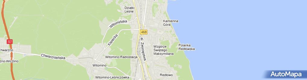 Zdjęcie satelitarne Drado PROJEKTDariusz Stęczniewski