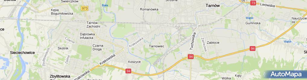 Zdjęcie satelitarne Drewnohurt