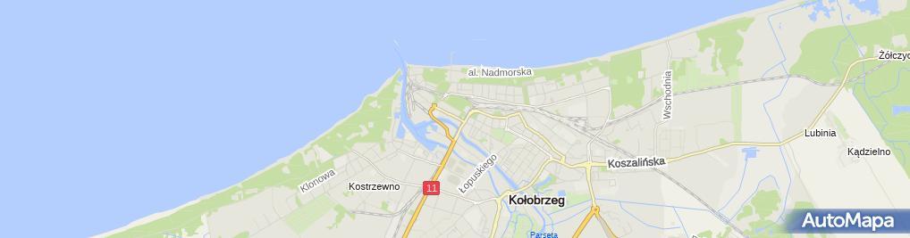 Zdjęcie satelitarne Drut-Mir Mirosław Rosa