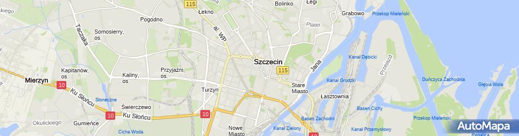Zdjęcie satelitarne Dukato Maciej Sawczyn, Salon Optyczny Maciej Sawczyn