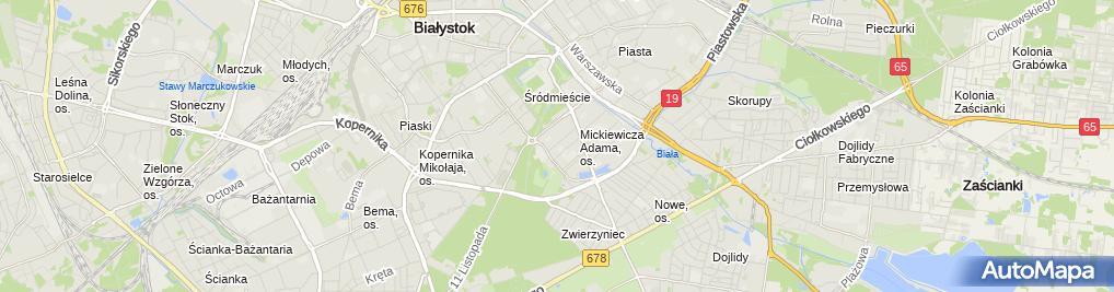 Zdjęcie satelitarne Durtech Zakład Okien Nietypowych Szymon Durczak