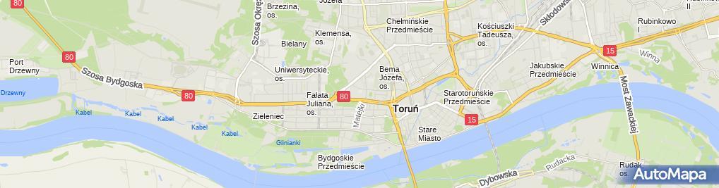 Zdjęcie satelitarne Dwojacka Krystyna