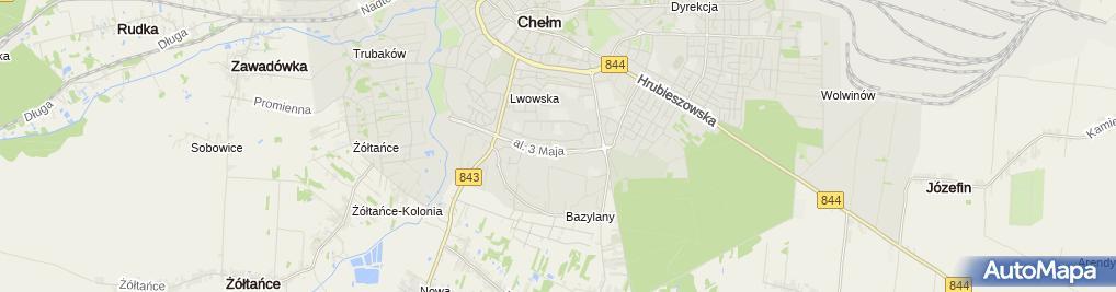 Zdjęcie satelitarne Dystrybutor Towarów