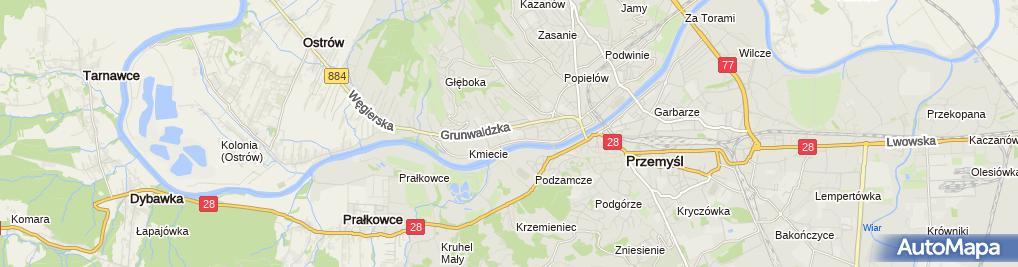 Zdjęcie satelitarne Dzięcięca Szkółka Karate Kyokushinkai Kiai