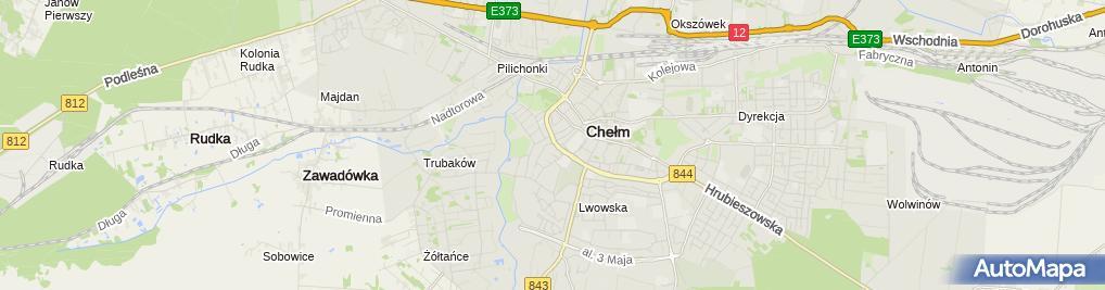 Zdjęcie satelitarne Dziekański Marek