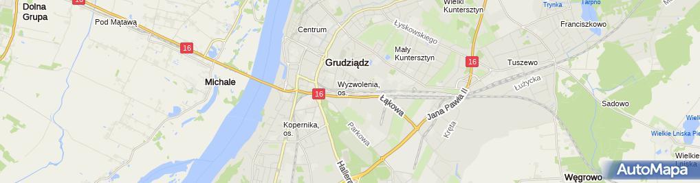 Zdjęcie satelitarne Ecik Stańczyk Andrzej Słomiak Marian Mrozek Piotr