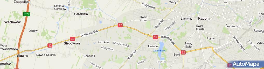 Zdjęcie satelitarne Eco Life Bartłomiej Gnaś