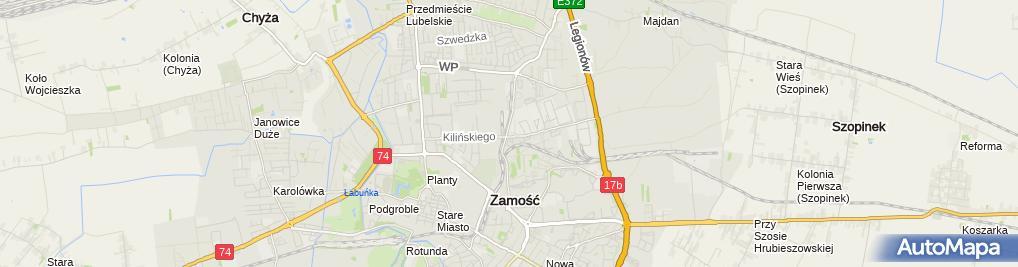 Zdjęcie satelitarne Ecotemat