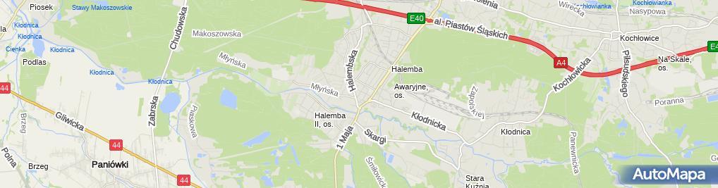 Zdjęcie satelitarne Edyta Czerwonka
