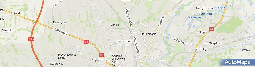 Zdjęcie satelitarne Edyta Starego E-Sanit Usługi Projektowe - Instalacje Sanitarne