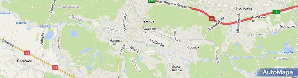 Zdjęcie satelitarne Eko Logia