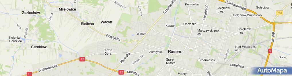 Zdjęcie satelitarne Eko Raf