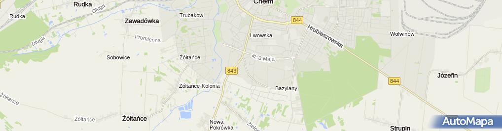 Zdjęcie satelitarne EkoDżul Mariusz Bandzul