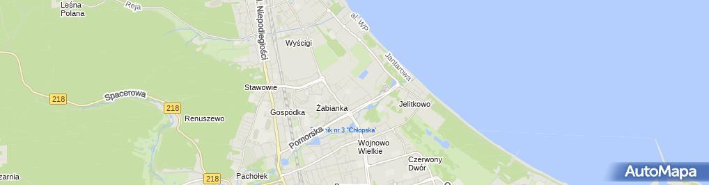 Zdjęcie satelitarne Eksport Import Mary