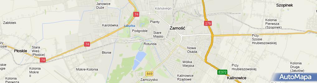 Zdjęcie satelitarne El Gaz Krzysztof Ścioch Łukasz Ćwirzeń