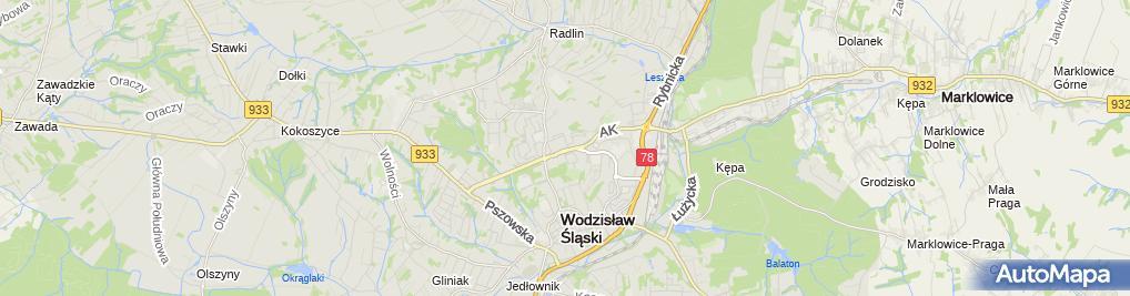 Zdjęcie satelitarne El VID Firma Usługowa