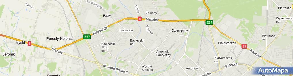 Zdjęcie satelitarne Elcontact System Mikołaj Michalczuk