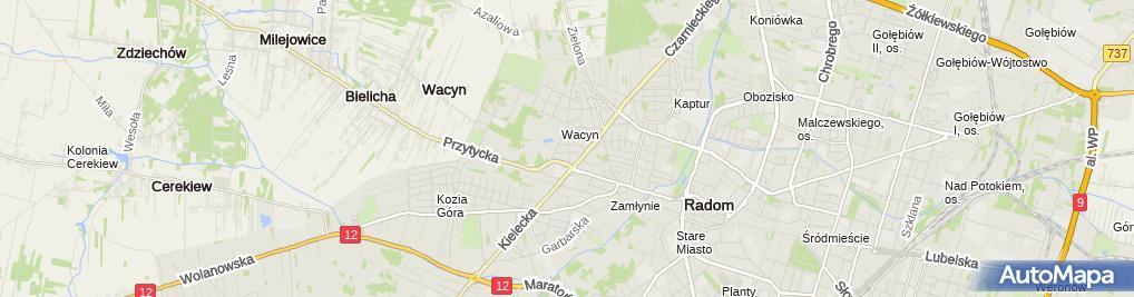 Zdjęcie satelitarne Elektroinstal