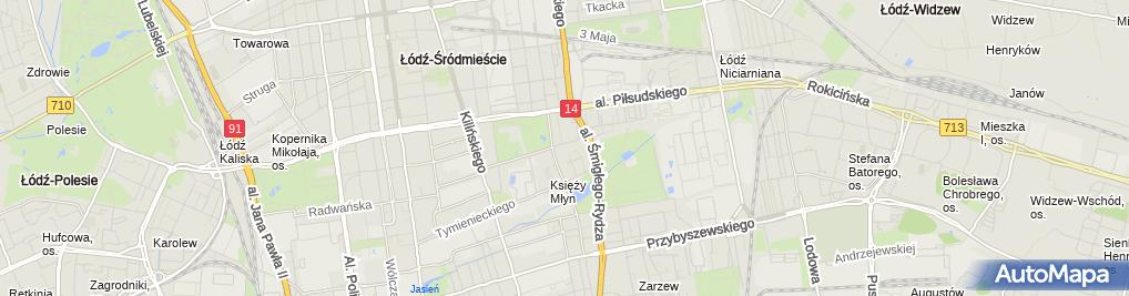 Zdjęcie satelitarne Elektromechanika Dźwigowa -Dźwig Stanisław Szmajda, Sławomir Rusołowski, Tomasz Wiśniewski