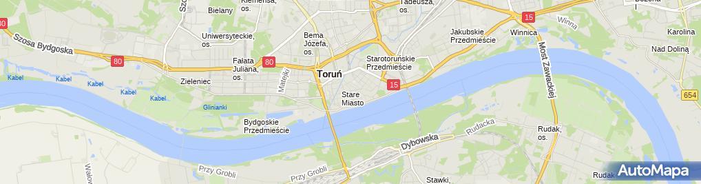 Zdjęcie satelitarne Elena Studio Stylizacji Ślubnej Elżbieta Lulińska