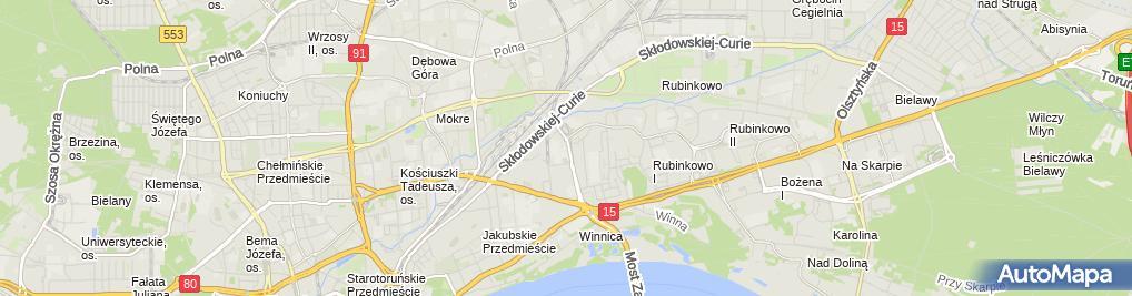 Zdjęcie satelitarne Eltel Networks Energetyka-Biuro