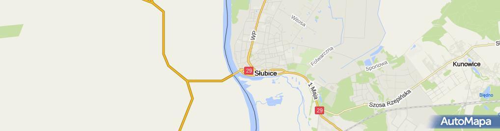 Zdjęcie satelitarne Eltex PPUH Spółka C.Elżbieta Pisarek, Janusz Pisarek