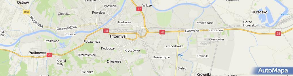 Zdjęcie satelitarne Elżbieta Bartkiewicz-Stós Niepubliczny Żłobek Omnibusek
