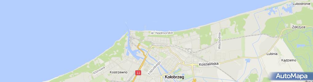 Zdjęcie satelitarne Elżbieta Kozera - Działalność Gospodarcza