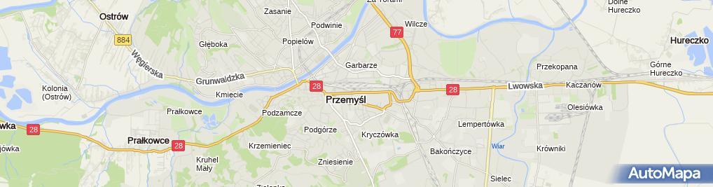 Zdjęcie satelitarne Elżbieta Piejko Firma Handlowo-Usługowa El-Po