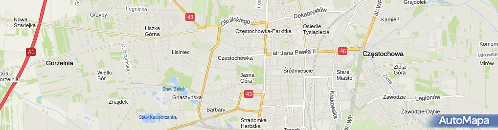 Zdjęcie satelitarne Elżbieta Poniewozik Galeria Art-Ver