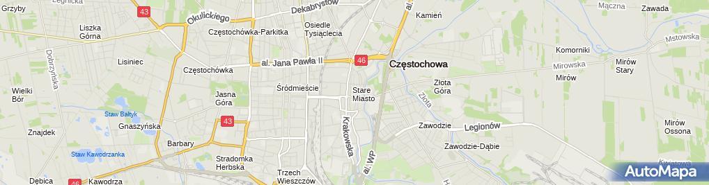 Zdjęcie satelitarne Elżbieta Serafin Sklep Rzeczy Ładnych