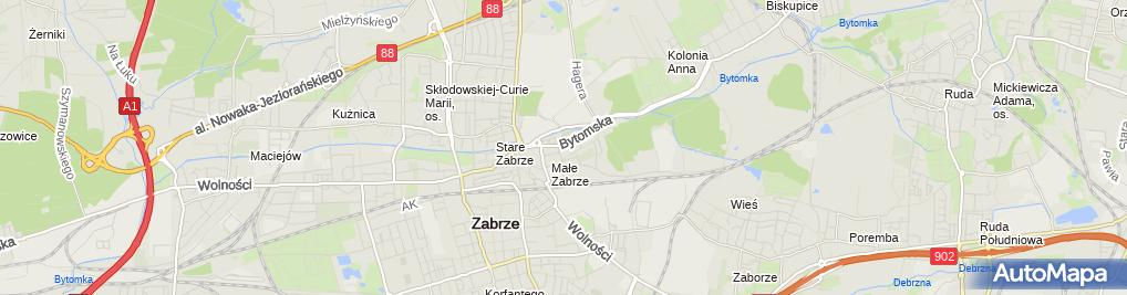 Zdjęcie satelitarne Emila