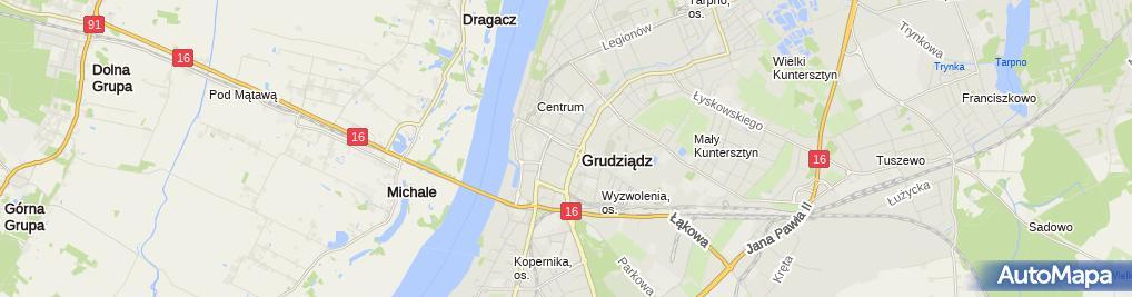 Zdjęcie satelitarne Emilia Sadowska - Działalność Gospodarcza