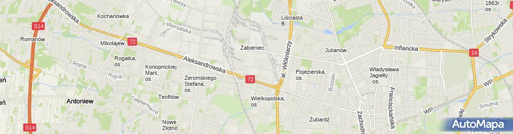 Zdjęcie satelitarne Epruf