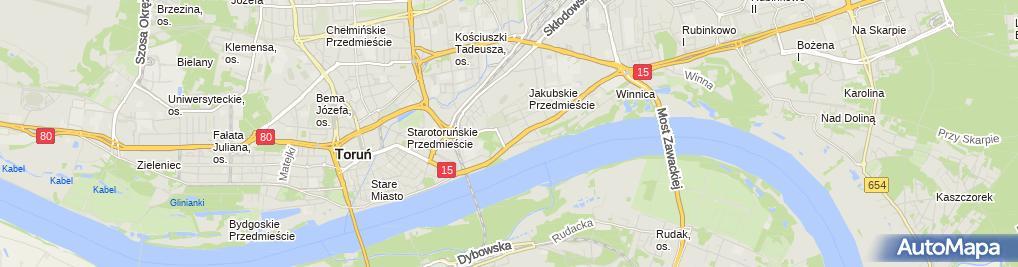 Zdjęcie satelitarne Ergo Lex Vita Specjalistyczny Gabinet Neurologiczny Sadurski Zbigniew