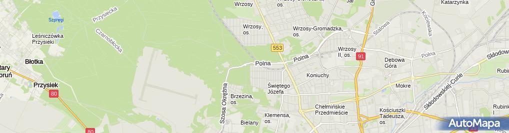 Zdjęcie satelitarne Estyma - Stanisław Krukar
