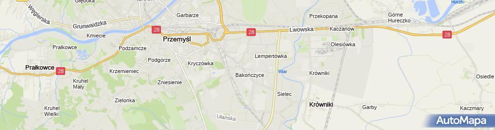 Zdjęcie satelitarne Euromasz