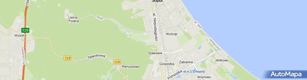Zdjęcie satelitarne Eventful World Magdalena Radka
