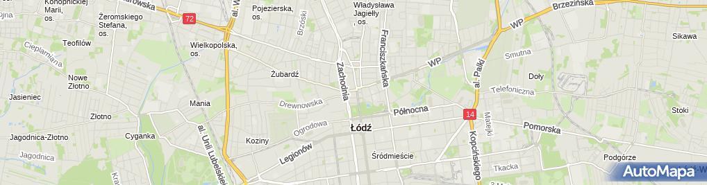 Zdjęcie satelitarne Ew Sklep Elektryczny