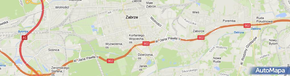 Zdjęcie satelitarne Ewa Długoszek Gracja
