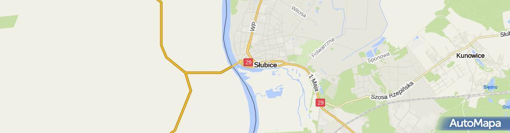 Zdjęcie satelitarne Ewa Woszczyńska