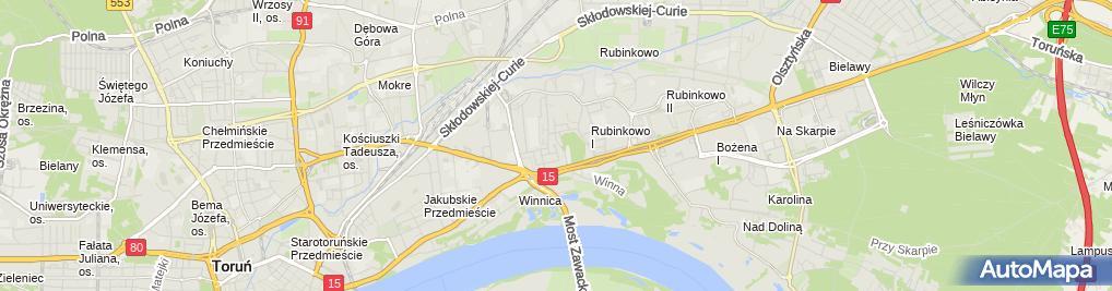 Zdjęcie satelitarne Expert Trans Rafał Piskorski