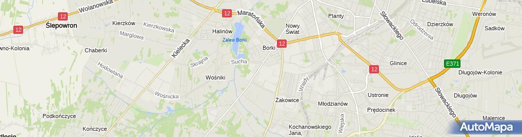 Zdjęcie satelitarne Expression